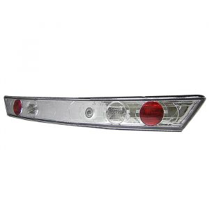 Spyder Auto ® - Chrome Euro Style Trunk Tail Lights (5004307)