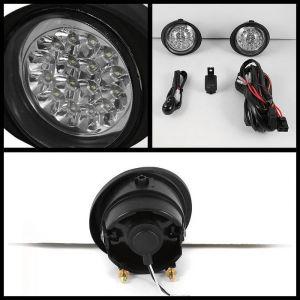 Spyder Auto ® - Chrome LED Fog Lights (5015716)