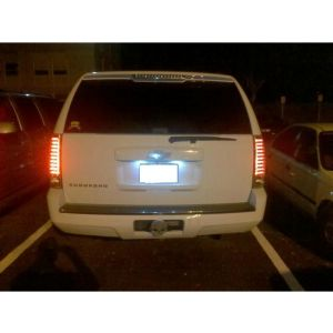 Spyder Auto ® - Chrome LED Tail Lights (5002143)