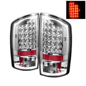 Spyder Auto ® - Chrome LED Tail Lights (5002624)
