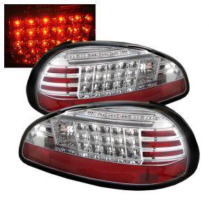 Spyder Auto ® - Chrome LED Tail Lights (5007155)