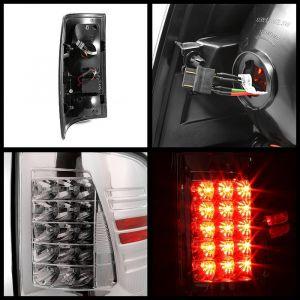 Spyder Auto ® - Chrome LED Tail Lights (5017550)