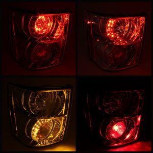 Spyder Auto ® - Chrome LED Tail Lights (5070104)