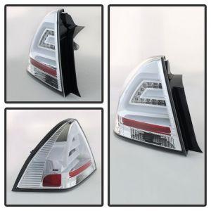 Spyder Auto ® - Chrome LED Tail Lights (5076397)
