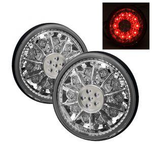 Spyder Auto ® - Chrome LED Trunk Tail Lights (5005854)