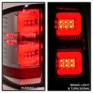 Spyder Auto ® - Chrome Light Bar LED Tail Lights (5080004)