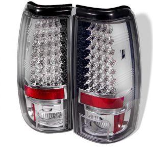 Spyder Auto ® - Chrome Smoke LED Tail Lights (5001733)