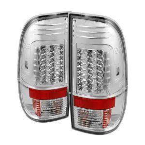 Spyder Auto ® - Chrome Version 2 LED Tail Lights  (5029171)