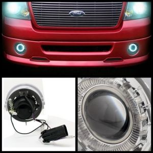 Spyder Auto ® - Clear Halo Projector Fog Lights (5021304)