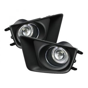 Spyder Auto ® - Clear Halo Projector Fog Lights (5075130)