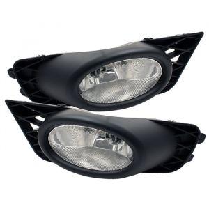 Spyder Auto ® - Clear OEM Style Fog Lights (5020697)