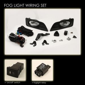 Spyder Auto ® - Clear OEM Style Fog Lights (5020918)