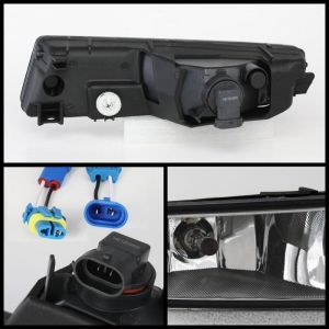 Spyder Auto ® - Clear OEM Style Fog Lights (5064660)