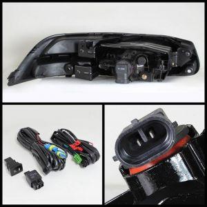 Spyder Auto ® - Clear OEM Style Fog Lights (5070432)