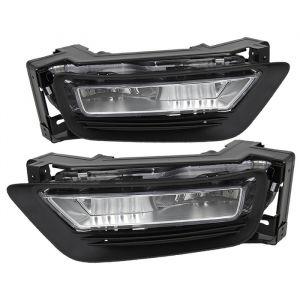Spyder Auto ® - Clear OEM Style Fog Lights (5076083)