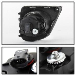 Spyder Auto ® - Clear OEM Style Fog Lights (5079855)