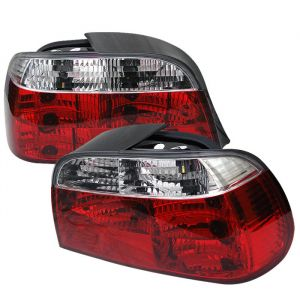 Spyder Auto ® - Red Clear Crystal Tail Lights (5000651)