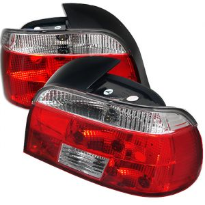 Spyder Auto ® - Red Clear Crystal Tail Lights (5000705)