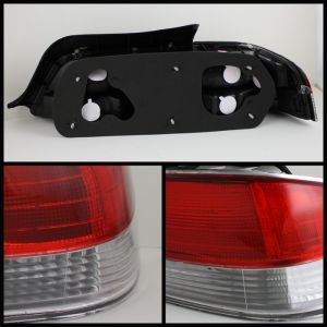 Spyder Auto ® - Red Clear Euro Style Tail Lights (5022516)