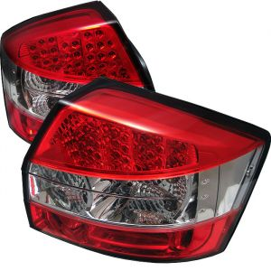 Spyder Auto ® - Red Clear LED Tail Lights (5000040)