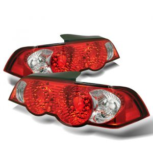 Spyder Auto ® - Red Clear LED Tail Lights (5000385)