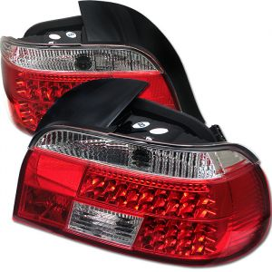 Spyder Auto ® - Red Clear LED Tail Lights (5000675)