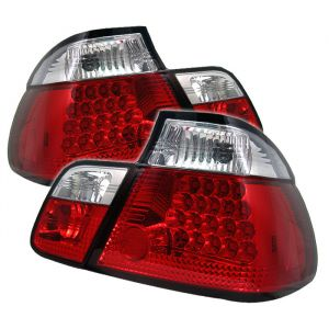 Spyder Auto ® - Red Clear LED Tail Lights (5000750)