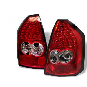 Spyder Auto ® - Red Clear LED Tail Lights (5000958)