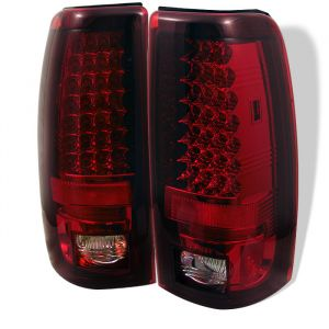 Spyder Auto ® - Red Clear LED Tail Lights (5001740)