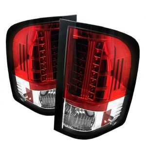 Spyder Auto ® - Red Clear LED Tail Lights (5001795)