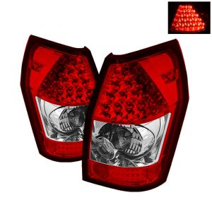 Spyder Auto ® - Red Clear LED Tail Lights (5002389)