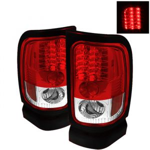 Spyder Auto ® - Red Clear LED Tail Lights (5002716)