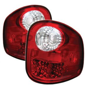 Spyder Auto ® - Red Clear LED Tail Lights (5003423)