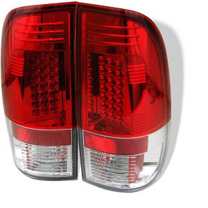 Spyder Auto ® - Red Clear LED Tail Lights (5003485)
