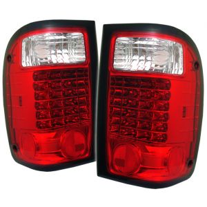 Spyder Auto ® - Red Clear LED Tail Lights (5003775)