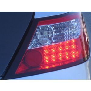 Spyder Auto ® - Red Clear LED Tail Lights (5004512)