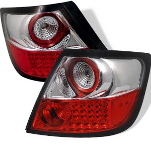 Spyder Auto ® - Red Clear LED Tail Lights (5007728)