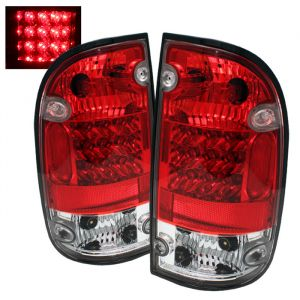 Spyder Auto ® - Red Clear  LED Tail Lights (5007872)