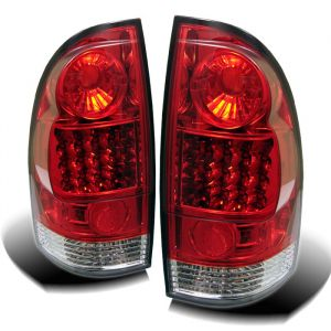 Spyder Auto ® - Red Clear LED Tail Lights (5007933)