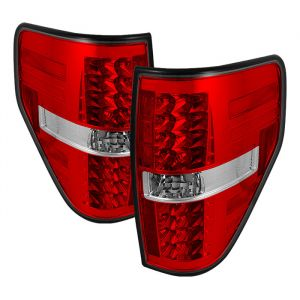 Spyder Auto ® - Red Clear LED Tail Lights (5008534)