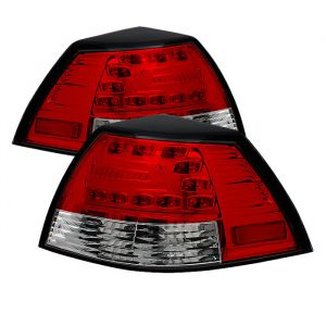 Spyder Auto ® - Red Clear LED Tail Lights (5008602)