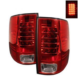 Spyder Auto ® - Red Clear LED Tail Lights (5017567)