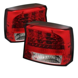 Spyder Auto ® - Red Clear LED Tail Lights (5031679)