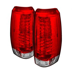 Spyder Auto ® - Red Clear LED Tail Lights (5032478)