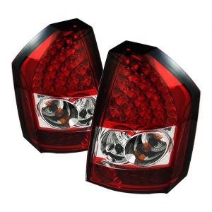 Spyder Auto ® - Red Clear LED Tail Lights (5034397)