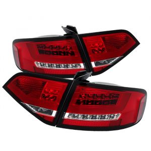 Spyder Auto ® - Red Clear LED Tail Lights (5076359)