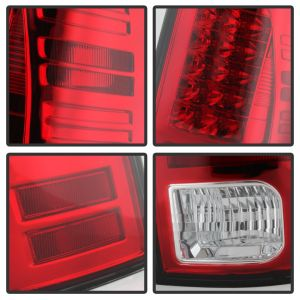 Spyder Auto ® - Red Clear LED Tail Lights (5077547)