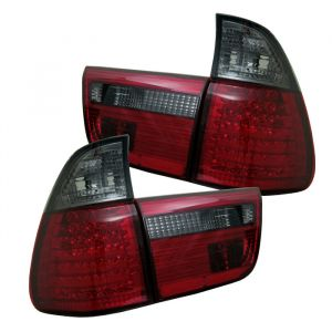Spyder Auto ® - Red Smoke 4PCS LED Tail Lights (5000811)