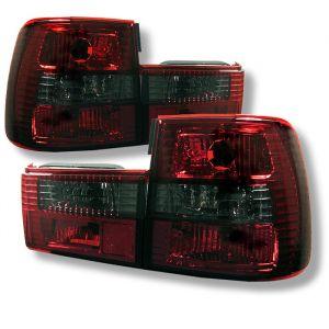 Spyder Auto ® - Red Smoke Euro Style Tail Lights (5000507)