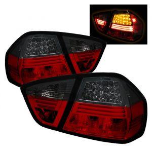 Spyder Auto ® - Red Smoke LED Tail Lights (5000910)